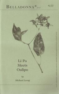 Li Po Meets Oulipo