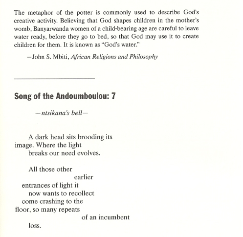Song of the Andoumboulou 7